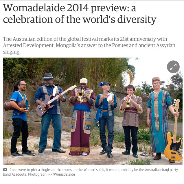 Guardian Womad Article